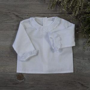 Camisa batista blanco