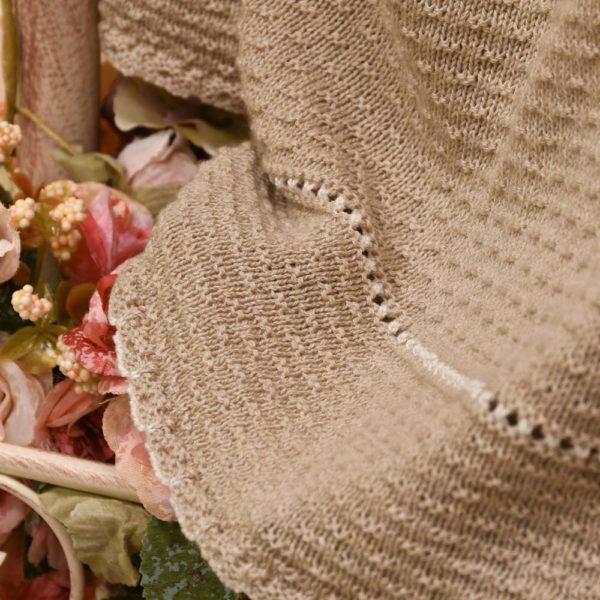 Toquilla de punto en algodón orgánico