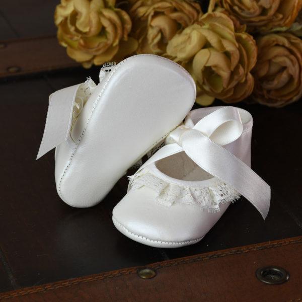 Zapato ceremonia marfil