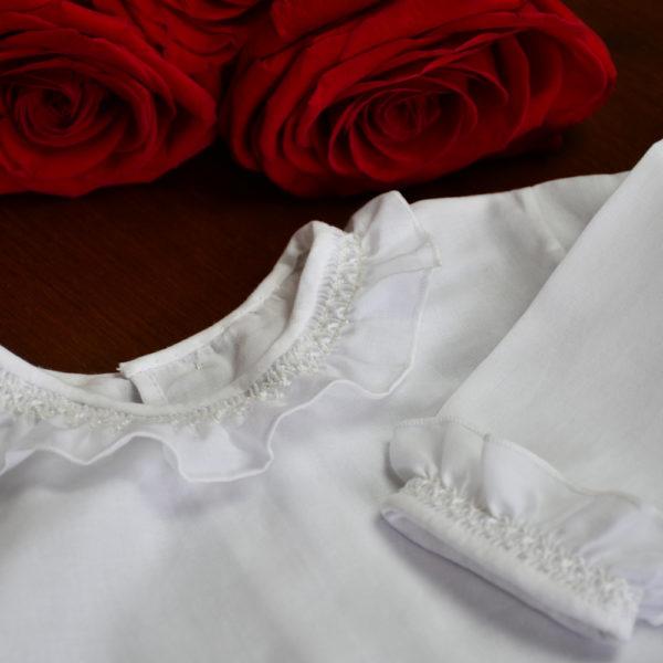 Camisa batista blanca